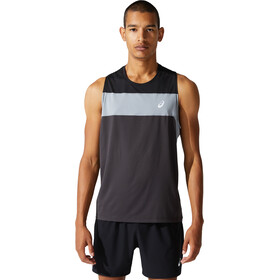 asics Race Singlet Men, graphite grey/performance black